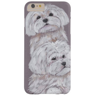 Two Maltese Barely There iPhone 6 Plus Case