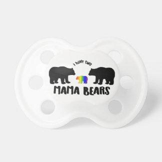 Two Mama Bears Pacifier Binky