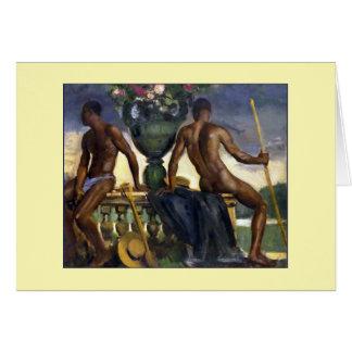 Two Men by Ranken Card