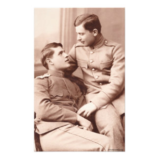 Two Men Photo Print