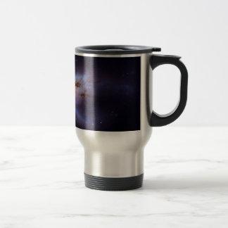 Two Merging Black Holes in Galaxy NGC 6240 Coffee Mug
