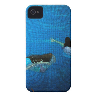 Two Mermaids Swimming iPhone 4 Cover