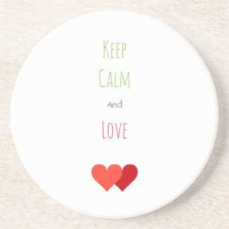 Two Network Hearts Coaster