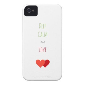 Two Network Hearts iPhone 4 Cover