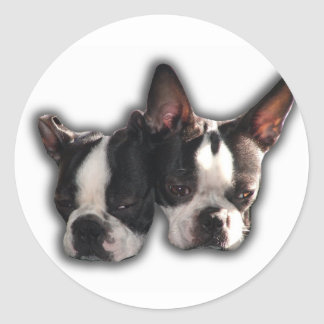 Two of a Kind Round Sticker