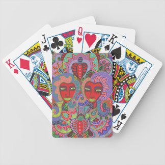 Two of Hearts 2 Bicycle Playing Cards