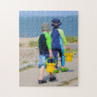 Two on the Beach Puzzle