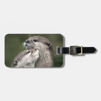 Two Otters Luggage Tag