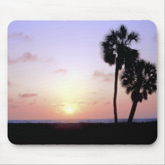 Two Palm Trees Mouse Pad