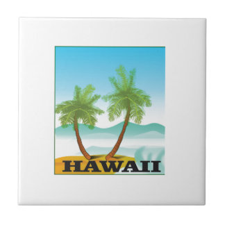 two palms of hawaii tile