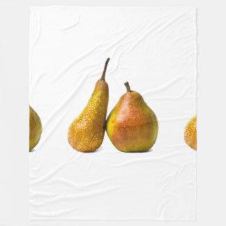 Two pears fleece blanket
