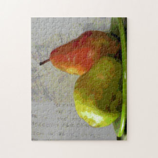 TWO PEARS JIGSAW PUZZLE