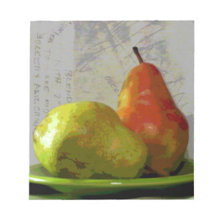TWO PEARS NOTEPAD