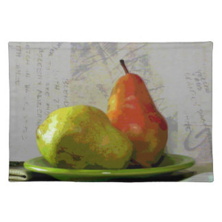 TWO PEARS PLACEMAT