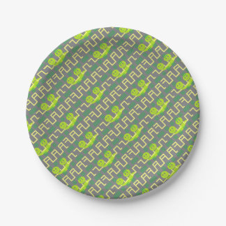 two peas in a pod 7 inch paper plate