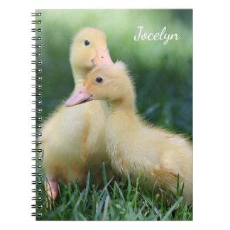 Two Pekin Ducklings Notebook