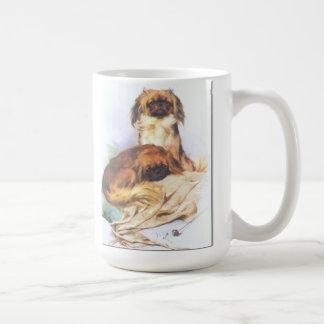 Two Pekingese Coffee Mug