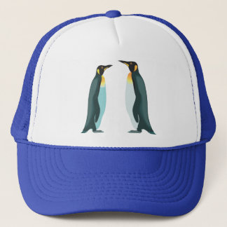 Two Penguins Trucker Hat