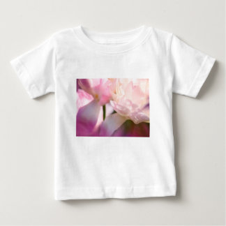 Two Peony Flowering Tulips with Petals Touching Baby T-Shirt