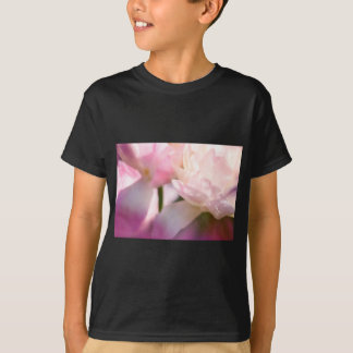 Two Peony Flowering Tulips with Petals Touching T-Shirt
