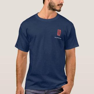 Two Pines logo on dark T-Shirt