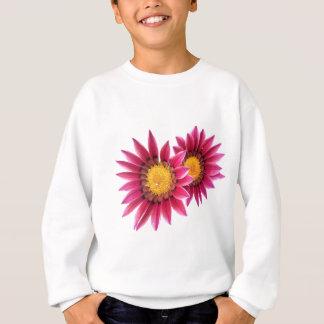 two pink flowers sweatshirt