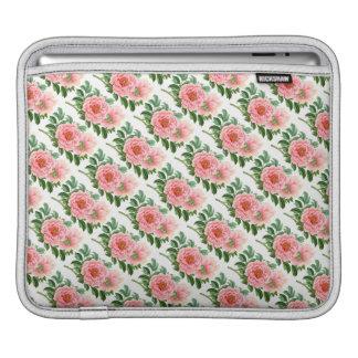 Two Pink Peonies iPad Sleeve