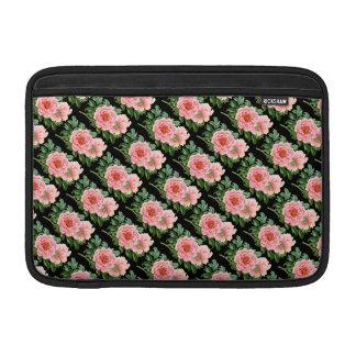 Two Pink Peonies MacBook Sleeve