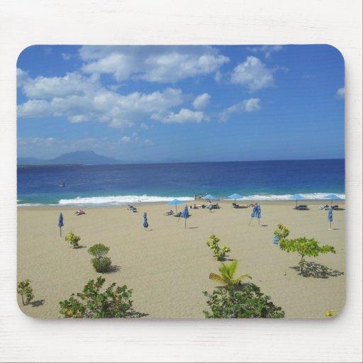 TWO PLAYA ALCIA BEACH SOSUA DOMINICAN REPUBLIC SUR MOUSE PAD