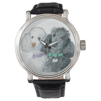 Two Poodles Wristwatch