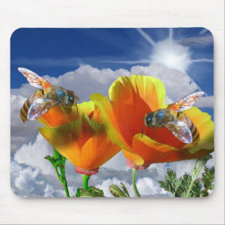 Two Poppies Picture 015 Mouse Mat