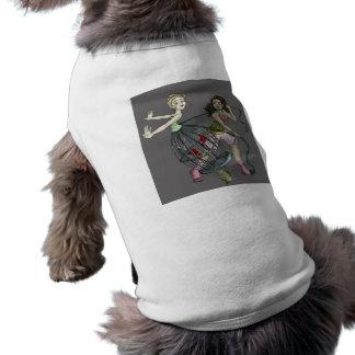 Two Pretty Birds Sleeveless Dog Shirt
