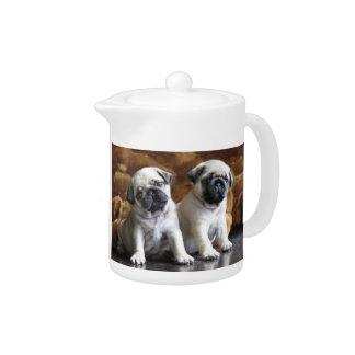 Two Pugs Teapot