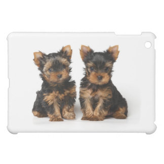 Two puppies of the Yorkshire terrier iPad Mini Cover