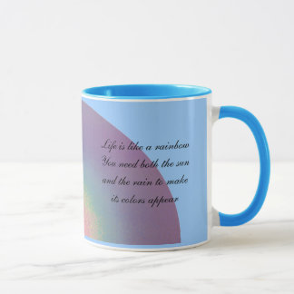 Two rainbow quotations - mug
