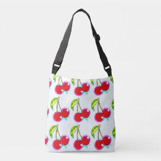 two red cherries crossbody bag