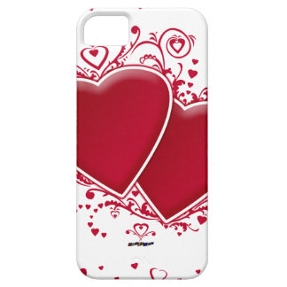 Two Red Hearts For Valentine s Day iPhone 5 Covers