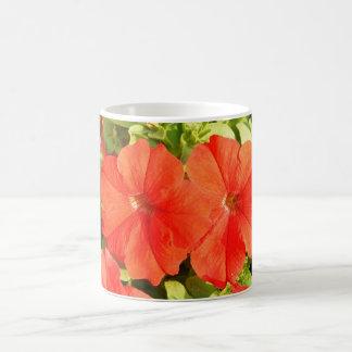 Two Red Petunias Coffee Mug