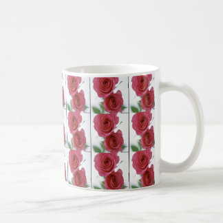 two red roses mugs