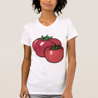 Two Red Tomatoes Womens T-Shirt