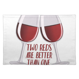 Two Reds Place Mats