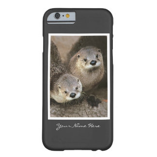 Two River Otters Barely There iPhone 6 Case