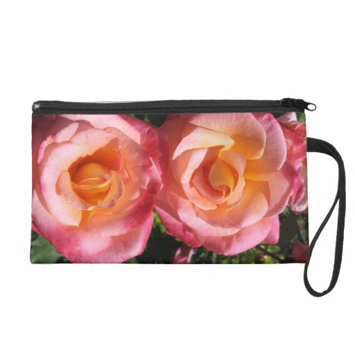 Two Roses Wristlet Clutches