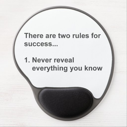 Two Rules For Success Revealed Gel Mouse Mats