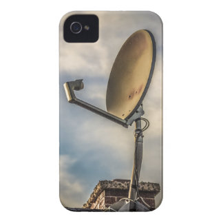 Two Satellite Dishes in the Sky Blackberry Cases