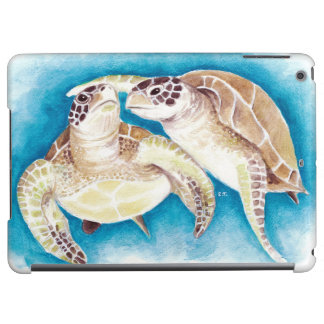 Two Sea Turtles