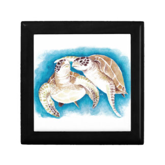 Two Sea Turtles Gift Box