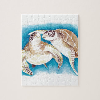 Two Sea Turtles Jigsaw Puzzle