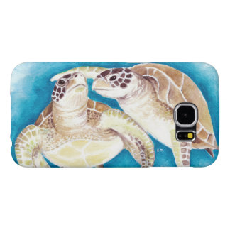 Two Sea Turtles Samsung Galaxy S6 Cases