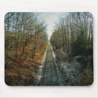 Two Seasons Meet Mouse Pad